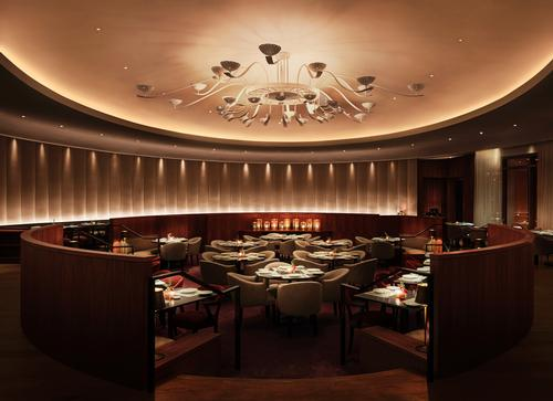 The resort's main restaurant, an oval-shaped room, is called the Matador Room and will feature Latin cuisine / Miami Beach EDITION