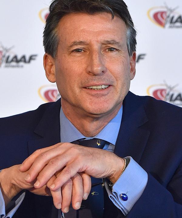 Sebastian Coe was named president of the IAAF last year / bruno bebert / Association Images