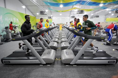 Technogym will fit the main training centre in Rio, as well as 15 warm up areas in various competition venues