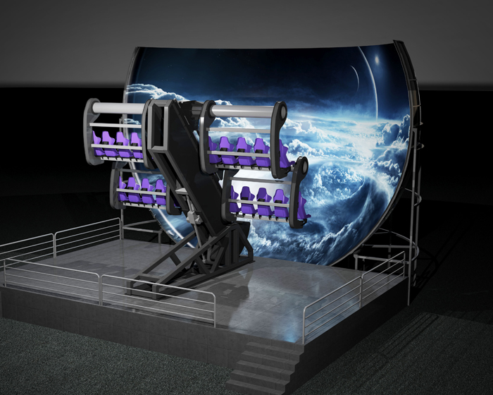 Simworx to launch Mini-Flying Theatre at IAAPA 2017
