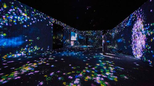 'We hope creativity, play, exploration, immersion, life, and fluidity will seep into the broader conscience,' said Toshiyuki Inoko from teamLab / teamLab