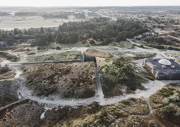Tirpitz Museum opened in June on Denmark's west coast. It is connected to a WWII bunker
