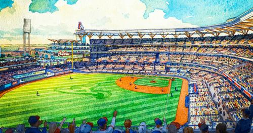 The stadium is set to replace Atlanta's current home of Turner Field / Atlanta Braves