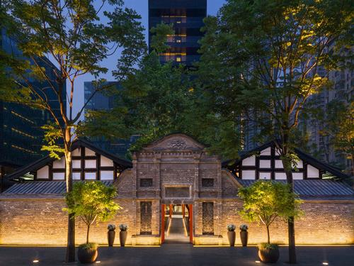 Make Architects design urban hotel, spa and teahouse in restored Chengdu monastery