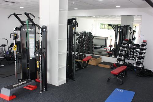 Cybex led the fit-out of the new facility, providing Cybex Bravo Functional Trainers, Jungle Gym, 625T treadmills and a plate-loaded kneeling leg curl