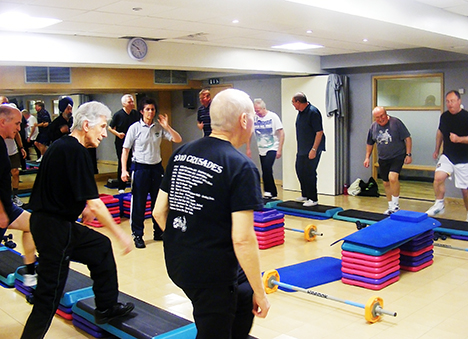 Impulse Leisure runs group exercise programmes for stroke and cardiac rehab patients
