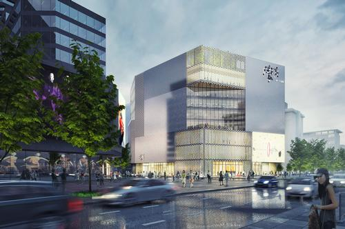 MVRDV designed the building to reach the city's maximum height limit, enhancing its commercial value and 'establishing visual and symbolic connections with various key parts of Beijing' / MVRDV