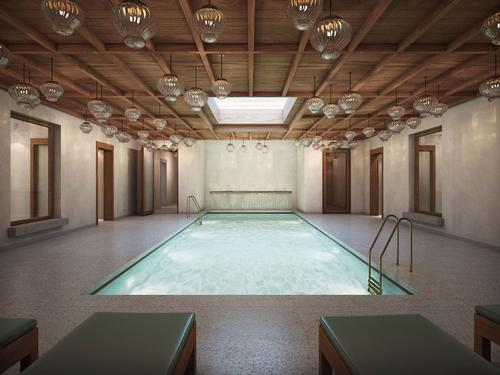The El Santuario spa will be housed in the estate's former stable building / Abadía Retuerta LeDomaine