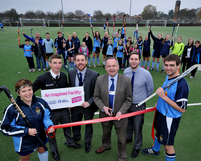 Thornton Sports completes pitch project