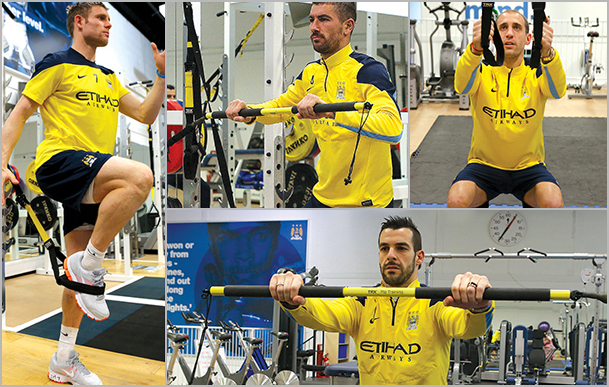Manchester City teams up with TRX for fitness programmes