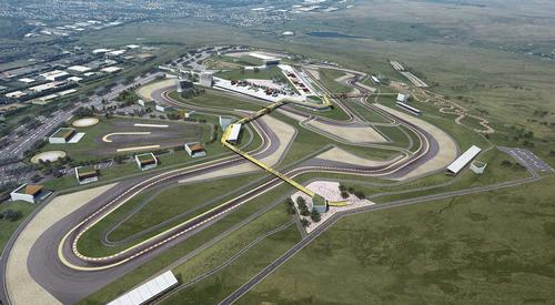 Once built, the venue will become a leading hub for British motorsport / Circuit of Wales