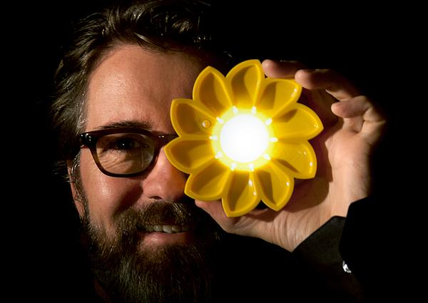 Danish-Icelandic artist Olafur Eliasson and his Little Sun project