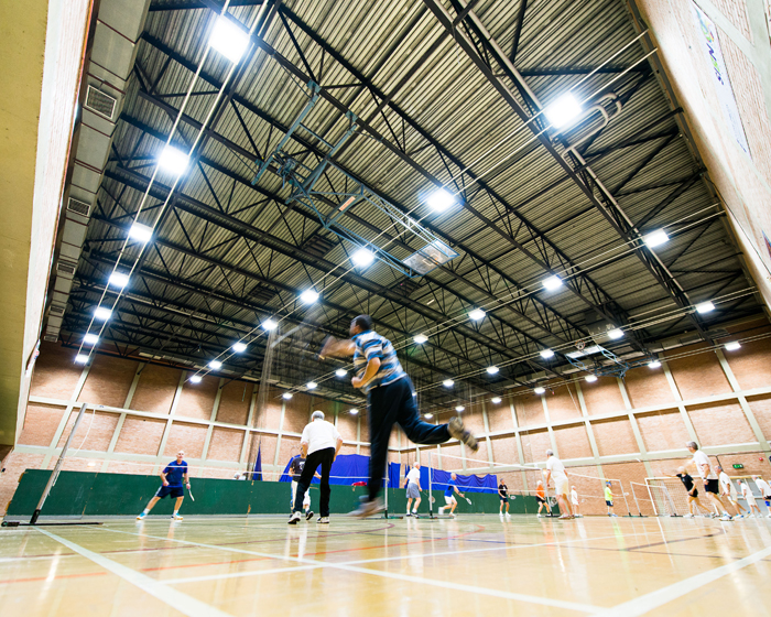 LED solution lights the way for Hyndburn leisure facility