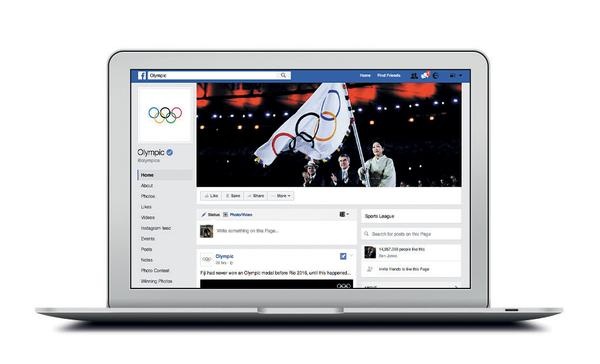 Facebook worked with Olympic broadcasters, and became one itself, via massive use of Facebook Live
