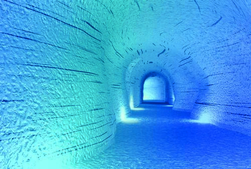 IceCave will be one of the the largest man-made structures in the world when it opens in May / Icecave