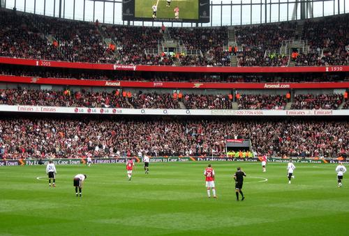 The Emirates Stadium, home of Arsenal FC – and the most expensive tickets in UK professional sport