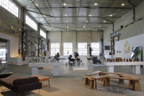 The museum is located in the country's first arts and design neighbourhood
