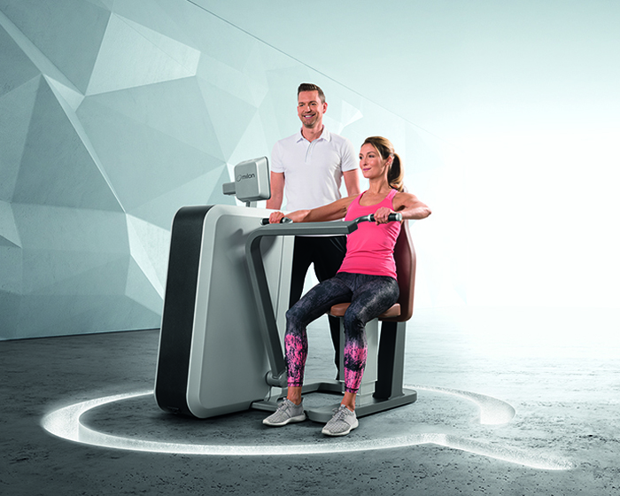 milon's Q series features gaming elements to motivate exercisers