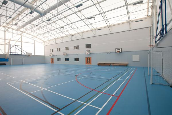 The Inverclyde facility will transform community sport in the area, providing a flexible space for team sports