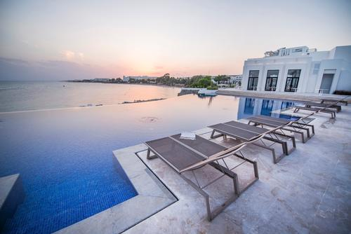 Other features of the property include four restaurants, two outdoor swimming pools and two direct-access private beaches / La Badira at Hammamet