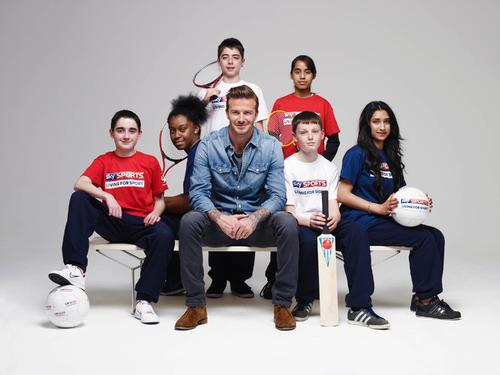 Sky and David Beckham partner in youth sports scheme