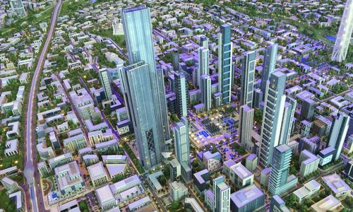 The Capital Cairo masterplan has been developed by Capital City Partners / Capital City Partners