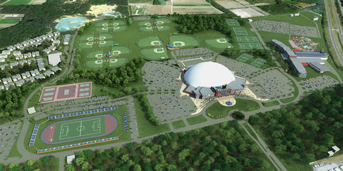 World leisure jobs plans underway for a us 350m sports for Ron dowling home designs