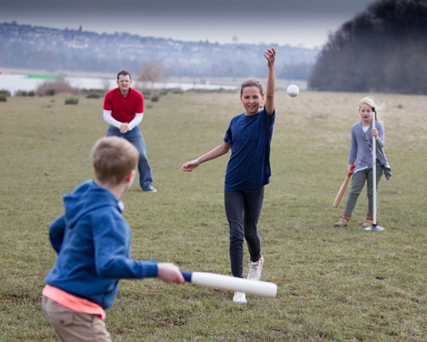 Most of Rounders England's grassroots activities encourage an informal style of play - which suits the nature of the sport