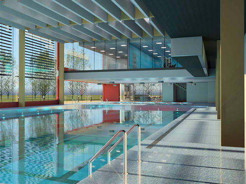Plans to demolish fire-damaged Abbey Leisure Centre in Yorkshire