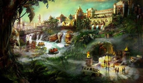 Designs for the park's Adventure Isle / LRCH Holdings