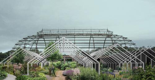 Winner announced for transformation of Springburn Winter Gardens, Glasgow