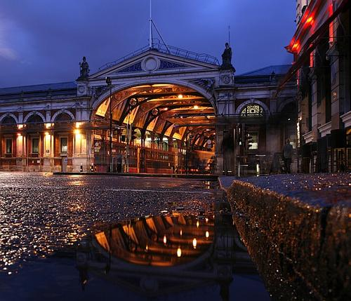 The Smithfield Market site, where a livestock market has been located for more than 800 years will be the new home of the Museum of London / Londonist