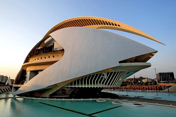 The opera house at the City of Arts and Sciences / PA Images