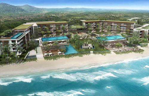 Due to launch in September 2015, Alila Seminyak will feature 240 bedrooms and a number of suites for sale. / Alila / UBRNarc