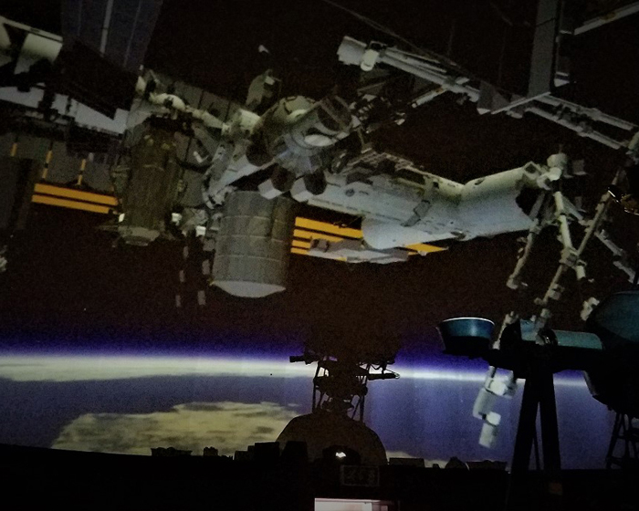7thSense completes out of this world installation at South Downs Planetarium