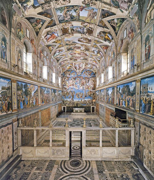 German manufacturer Osram has supplied the Sistine Chapel with a new type of LED solution