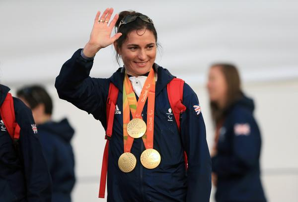 Storey won three gold medals at the Rio 2016 Paralympics / Tim Goode / press associations