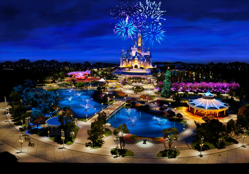 Like all Disney resorts, the castle will be central to the theme park