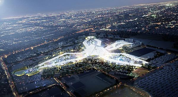 The two firms collaborated on the design of the Dubai World Expo 2020 bid master plan