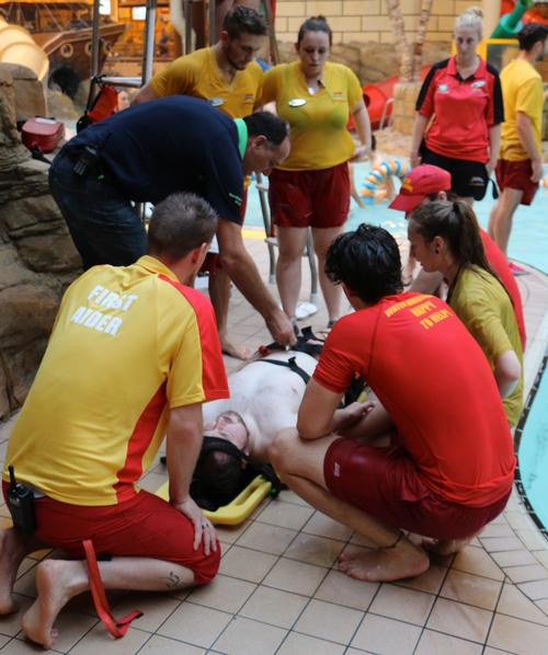 Blackpool waterpark staff undergo crucial incident training