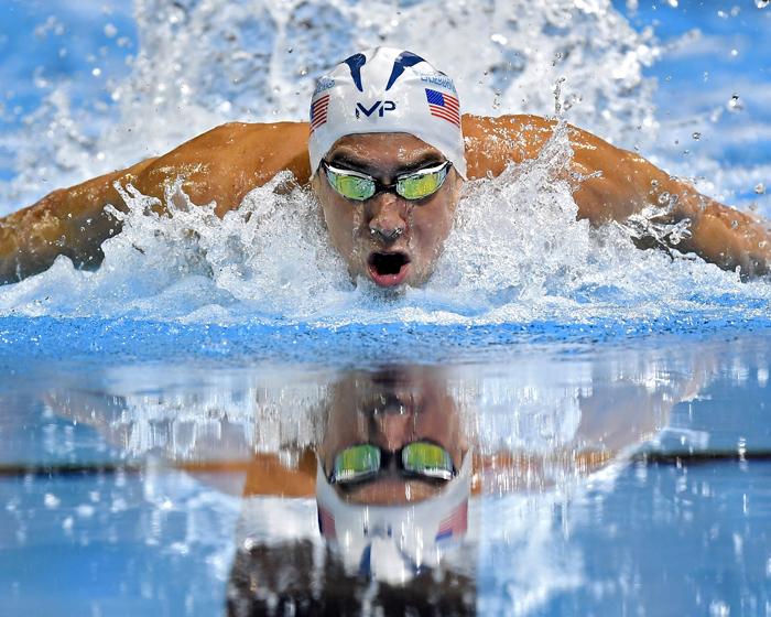 Neptune Benson supports US Swim Trials