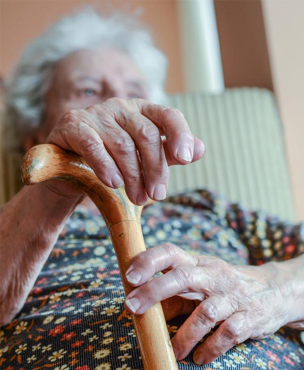 A third of over-65s fall each year