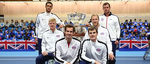 Great Britain won the Davis Cup in November after a 79-year wait / Lawn Tennis Association/Getty