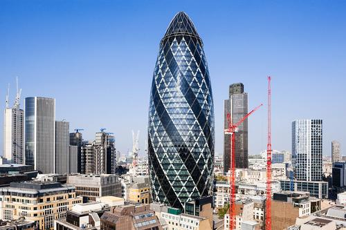 London's Gherkin sold for £700m