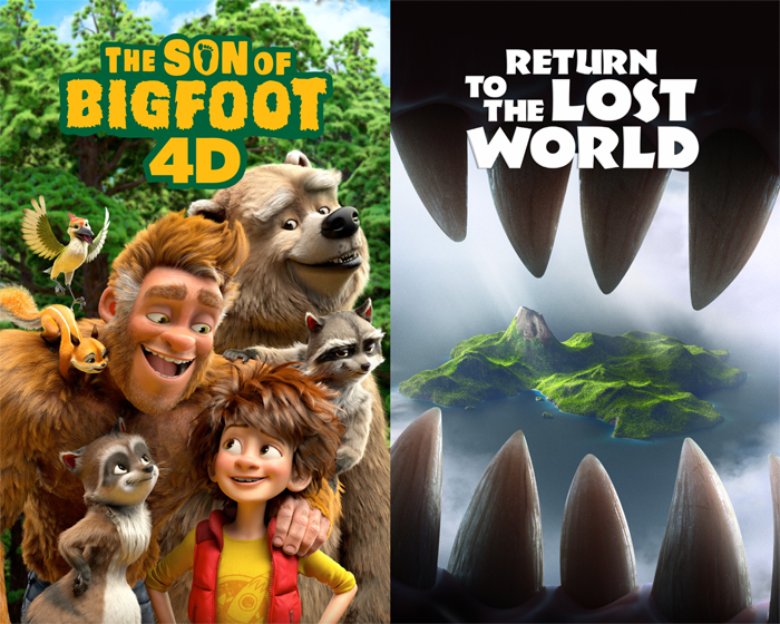 Visitors to the nWave booth will get a sneak peek at Son of Bigfoot and Return to the Lost World