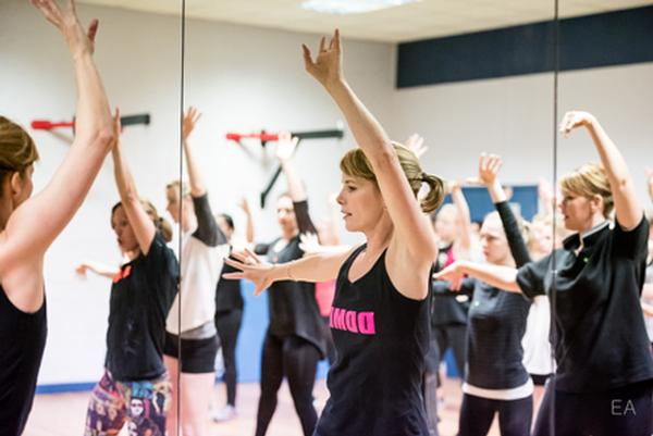 Jazzercise's dance-party vibe helps to attract raving fans