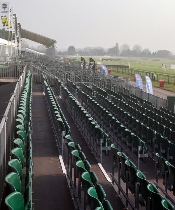 Arena Seating has secured a three-year contract for the Grand National
