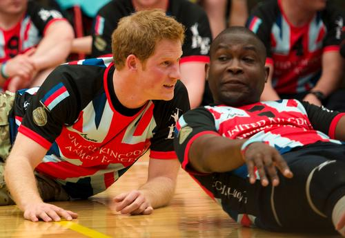 Prince Harry visited the Warrior Games in May 2013 / Image: flickr.com/DVIDSHUB