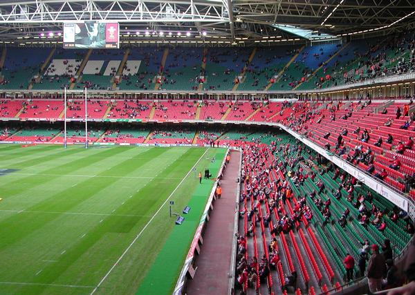 The Millennium Stadium has a rich rugby heritage –despite its young age