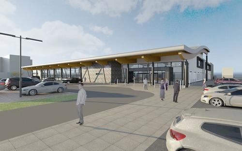 Work progressing on £13.4m beachfront leisure centre in Neath, Wales
